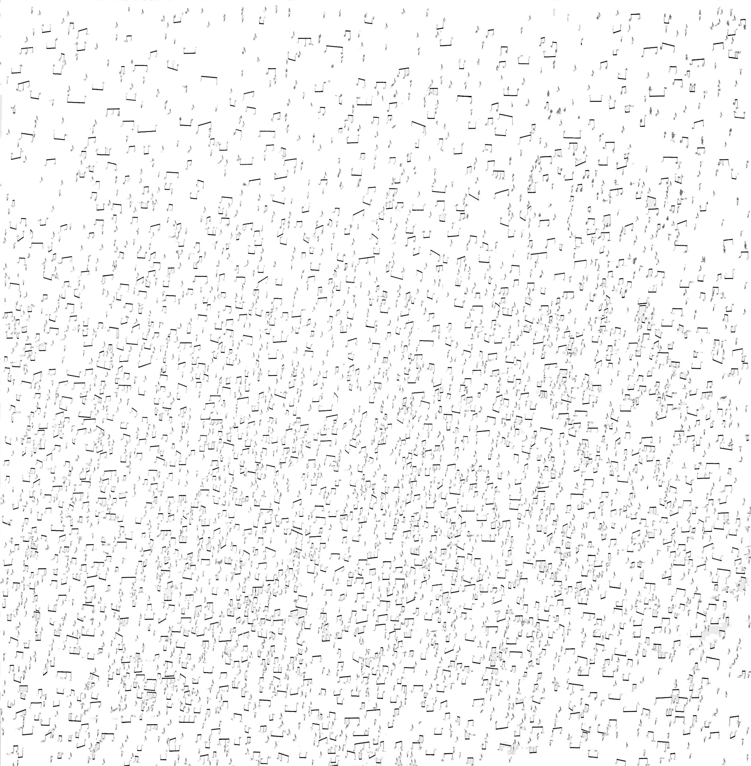 SHOTGUN SYMPHONY 2 by Etienne de Fleurieu , dessin à l' encre