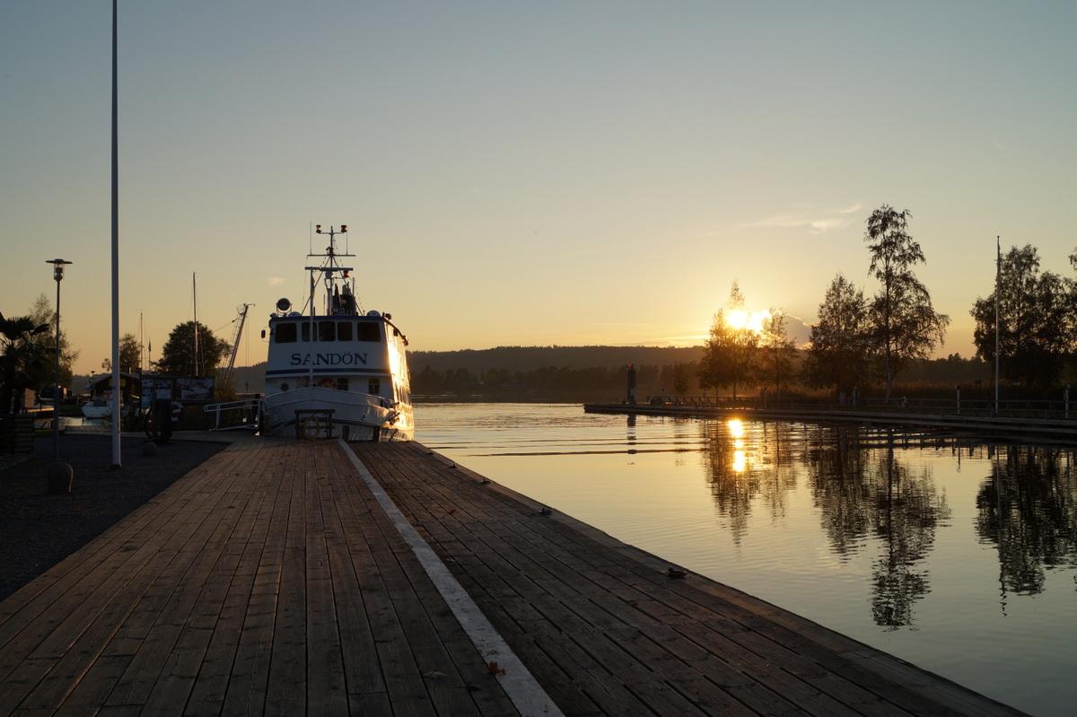 Götakanal in Karlsborg