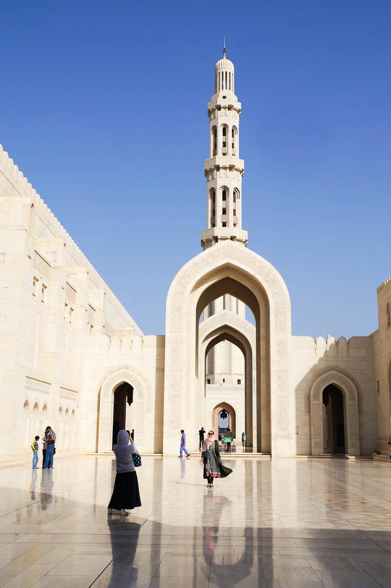 Sultan Qaboos Moschee, Muskat
