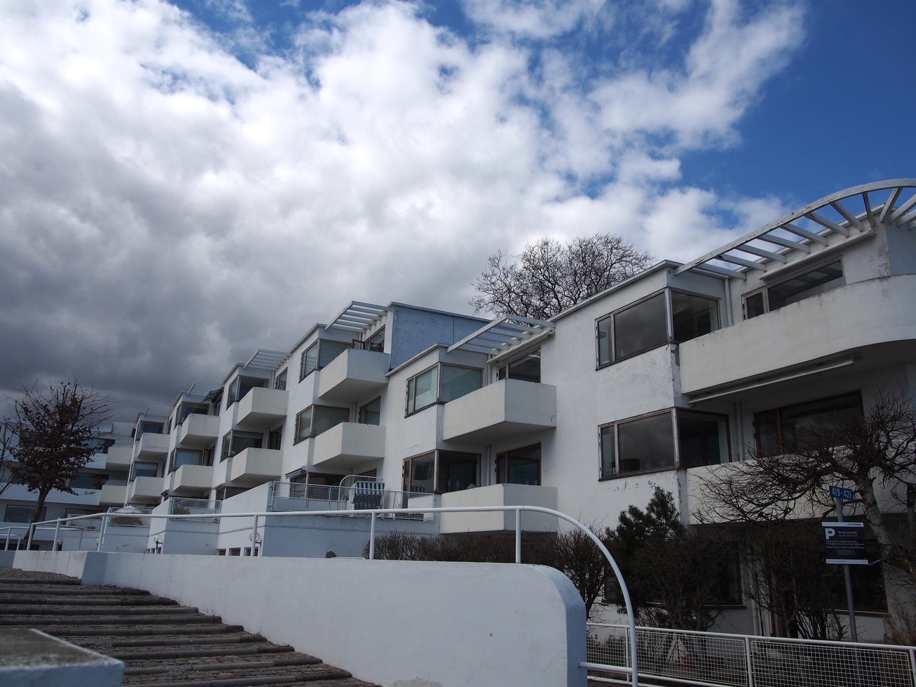 ベラヴィスタ集合住宅/Arne Jacobsen