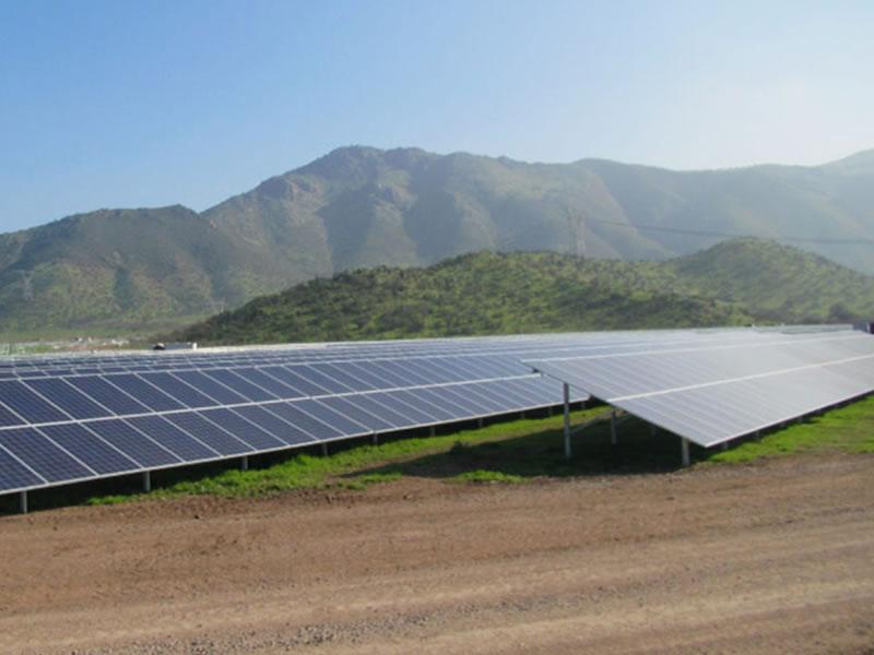 Santiago Solar Project - Image: EDF