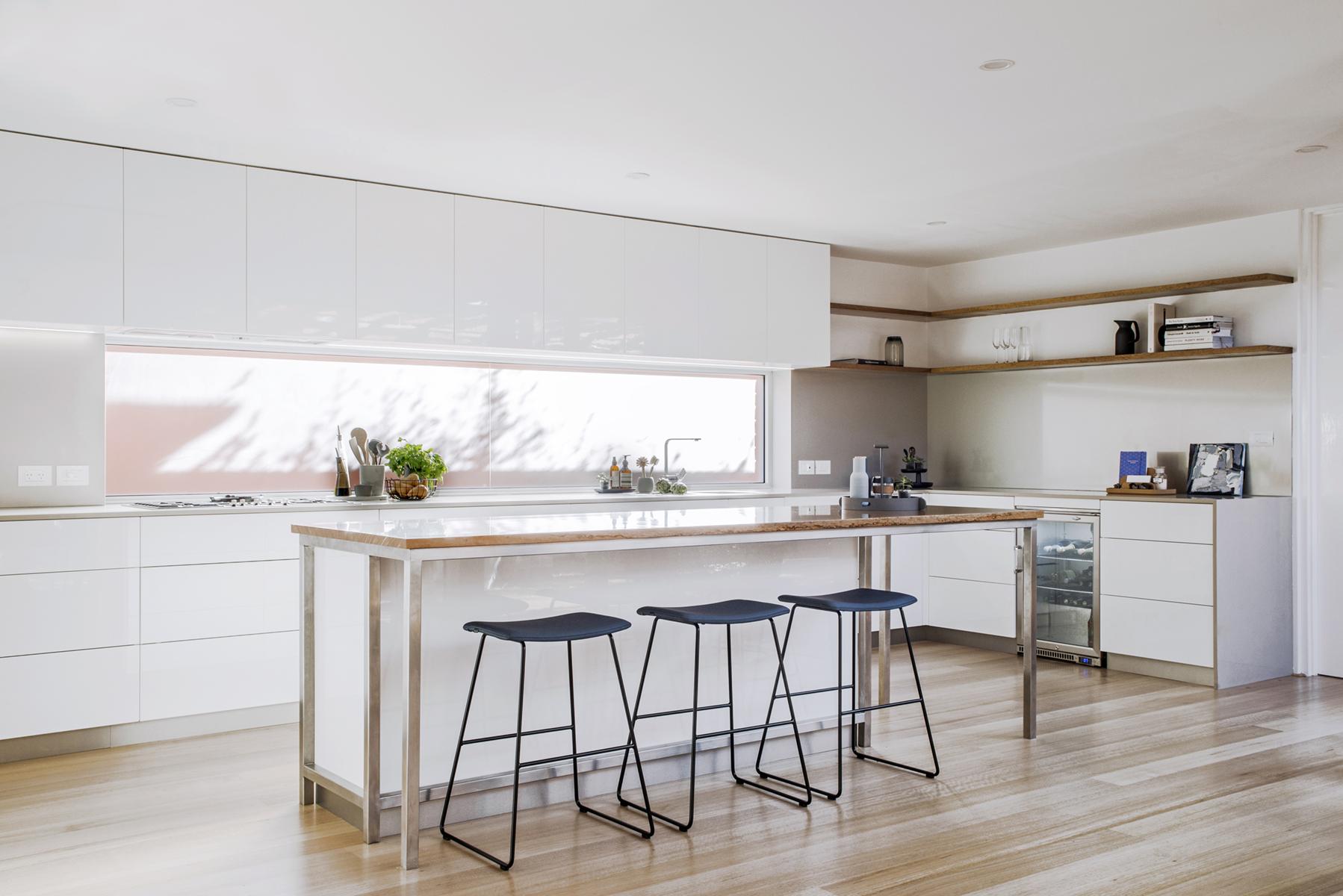white designer kitchen