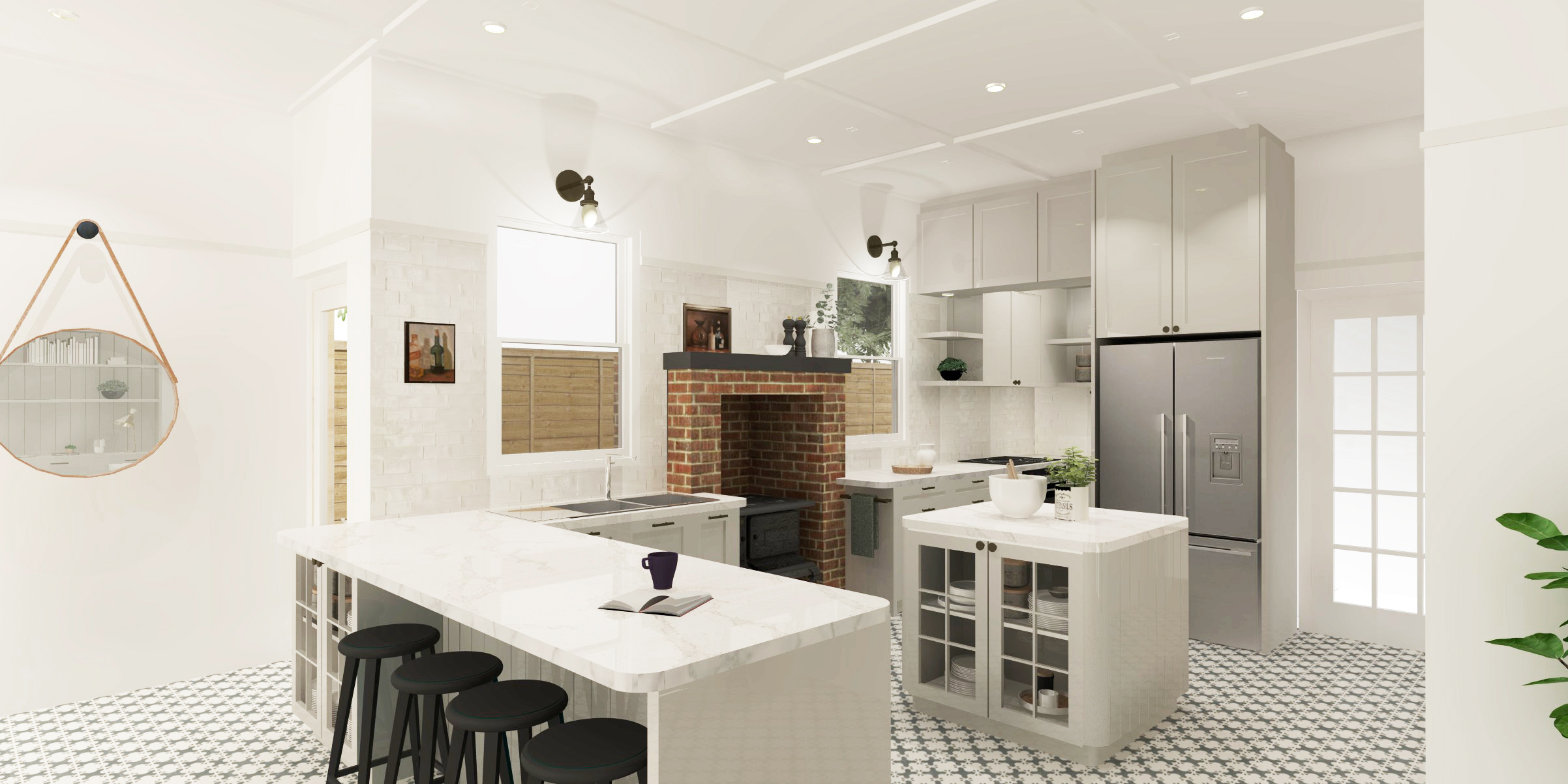 kitchen sketchup model image
