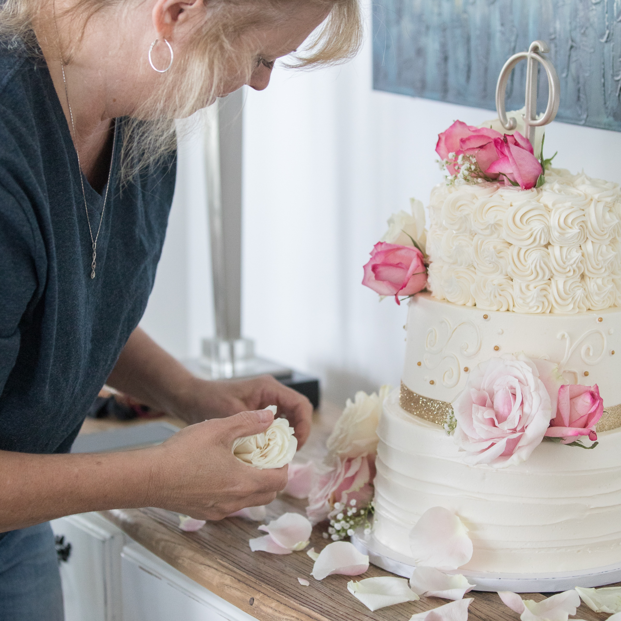 Kim's cakes are stunning and as well as delicious