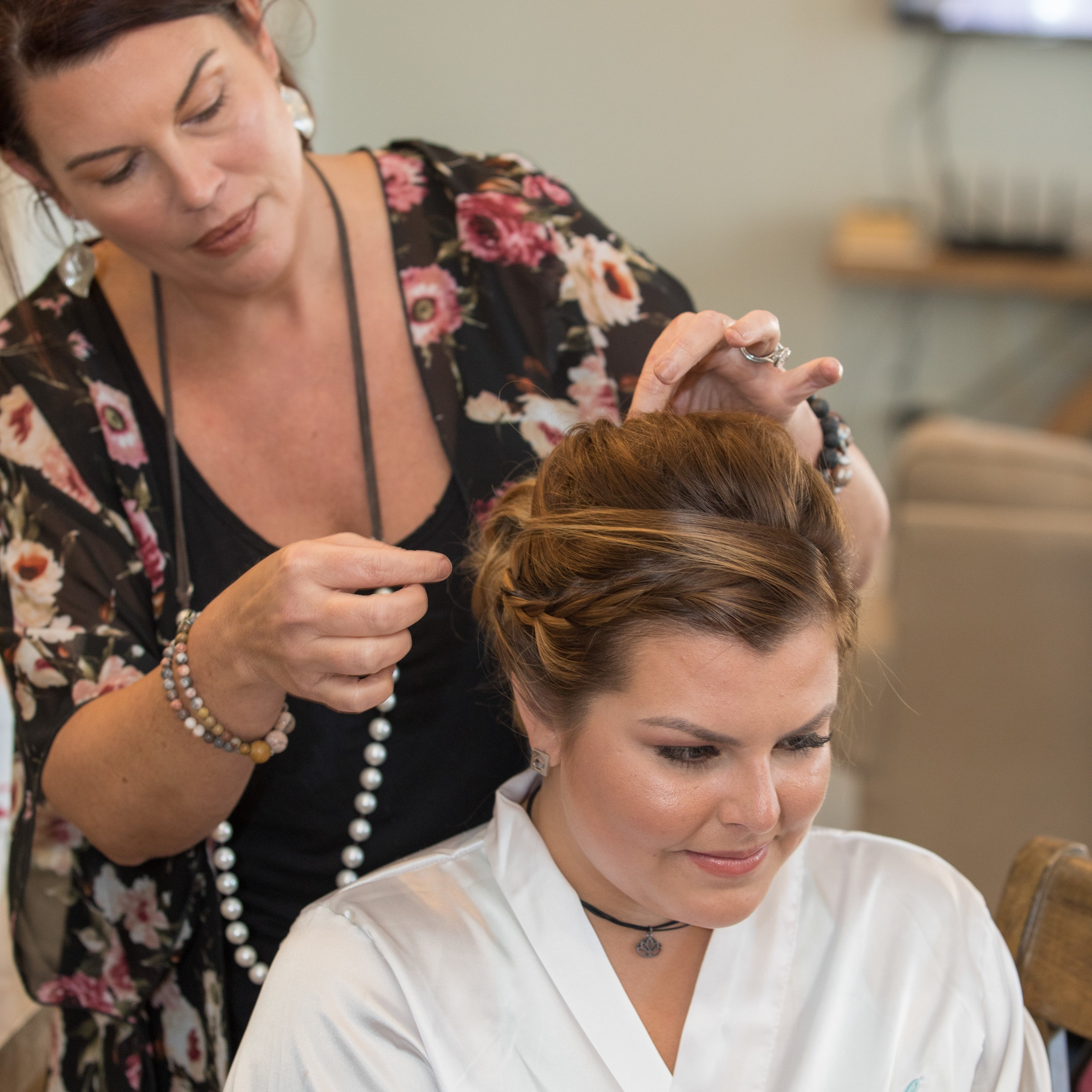 Mary is a celebrity hair and make-up artist