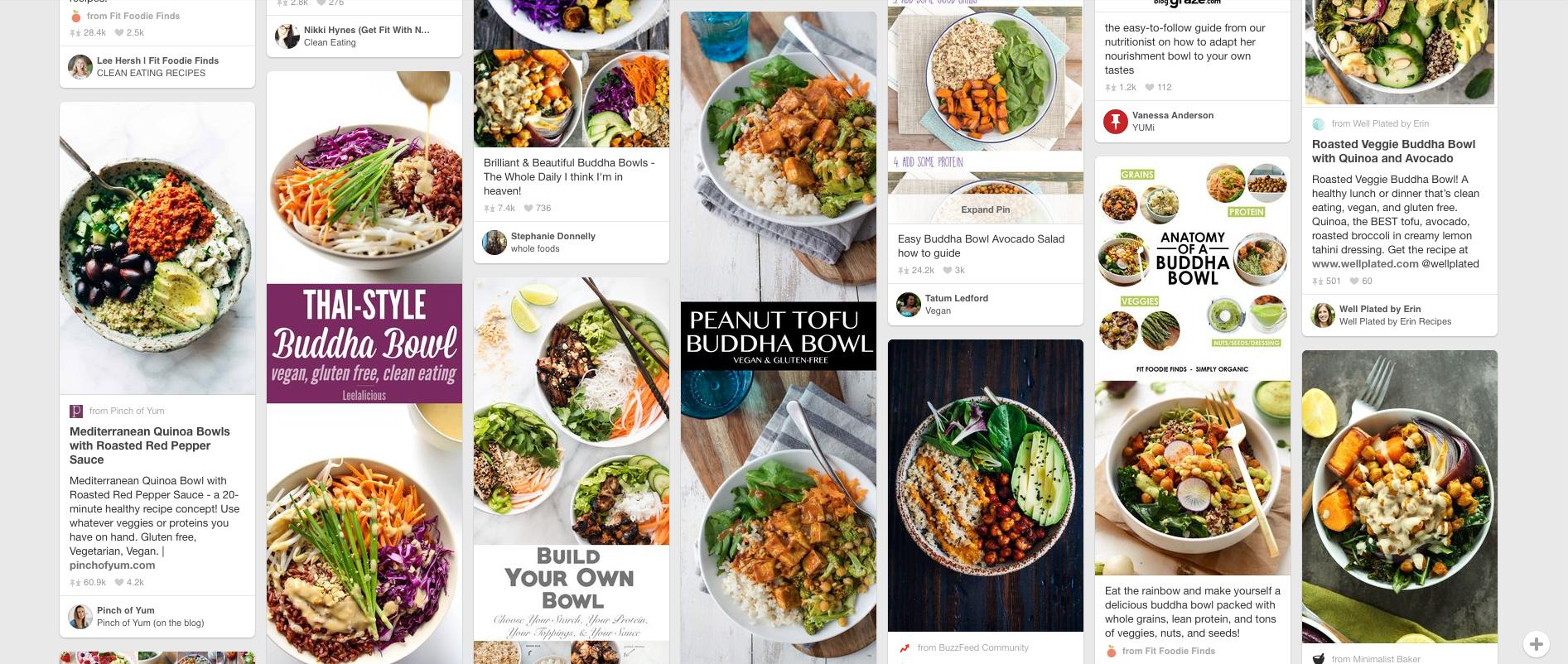 Si l'on en croit Pinterest, le super bowl a tout bon