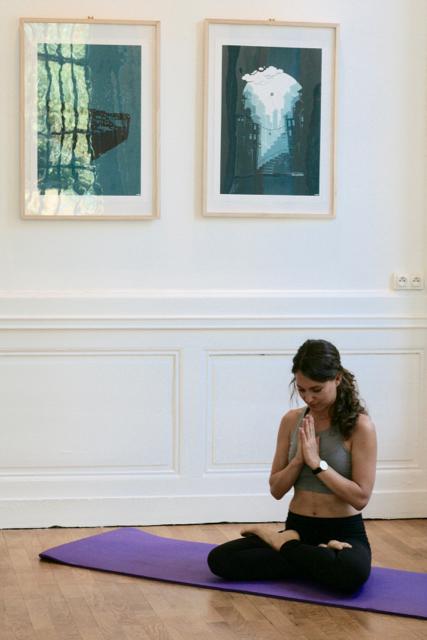Brittany en pleine méditation