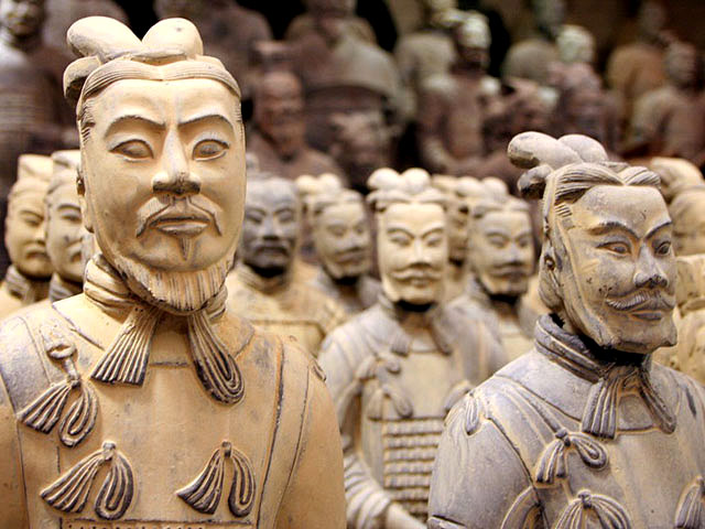 This army of clay warrior is more legit than most twitter followings.