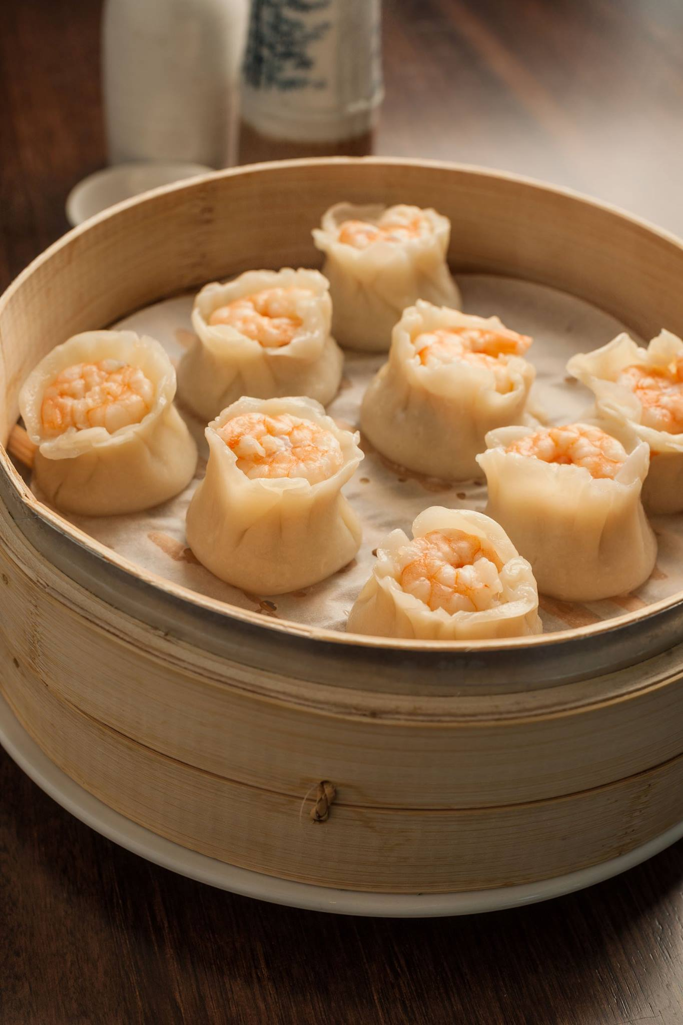 Steamed dumplings - and the famous handmade xiao long bao are the signature piece.