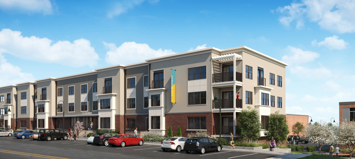 Introducing   45 POP LOFTS & 125 MIDWAY   In the Heart of Garden City.