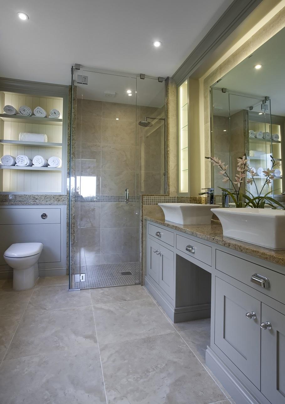Double Sink Vanity Unit