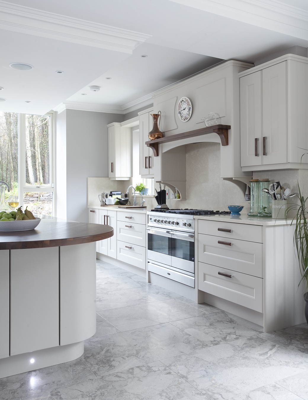 A Noel Dempsey Painted Kitchen
