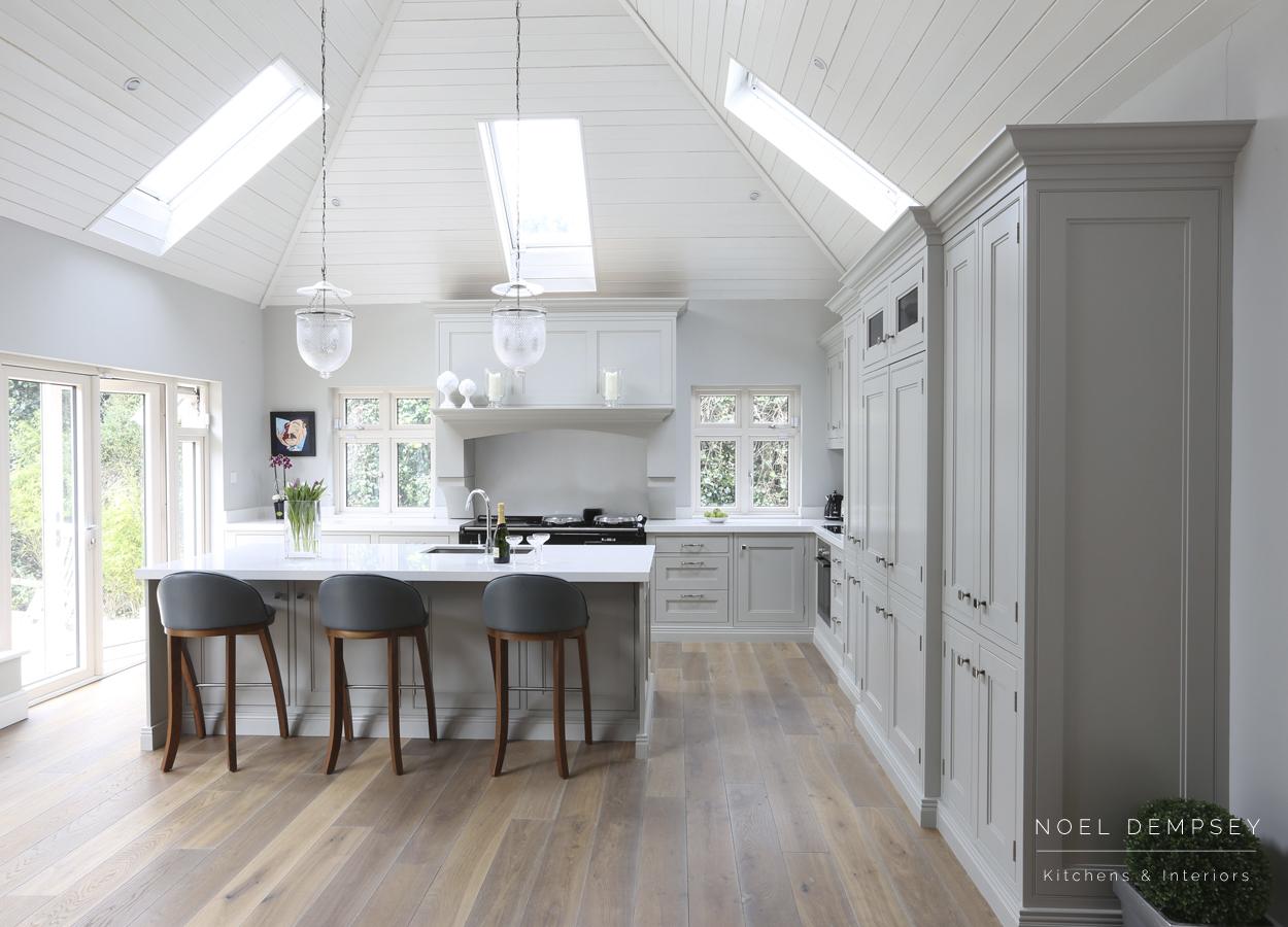 Table view bespoke kitchen