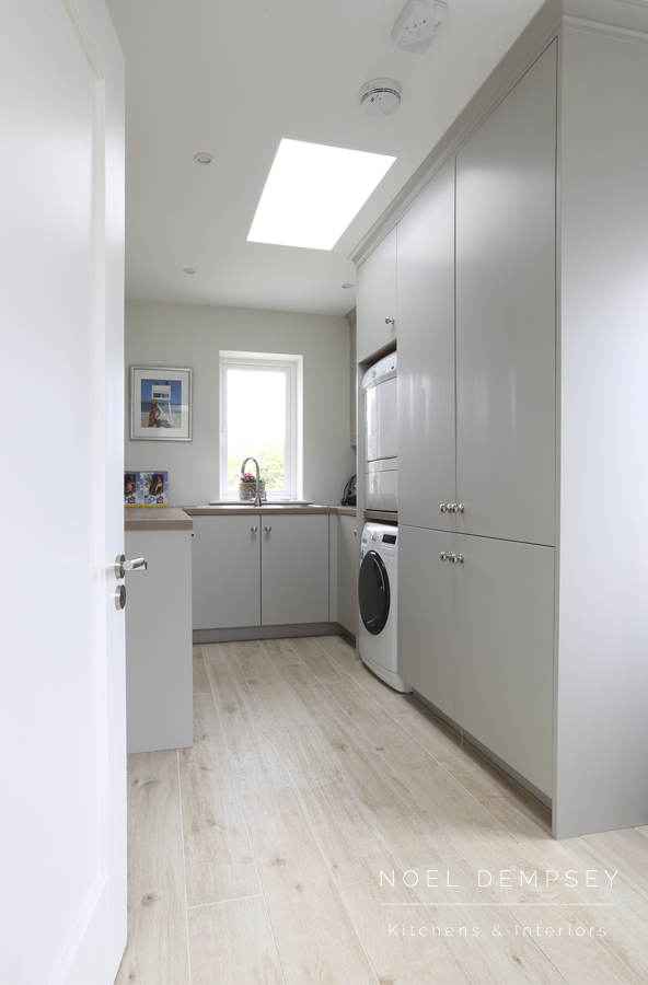 Laundry room designed by Noel Dempsey