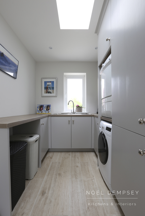 Custom laundry room overview - Noel Dempsey