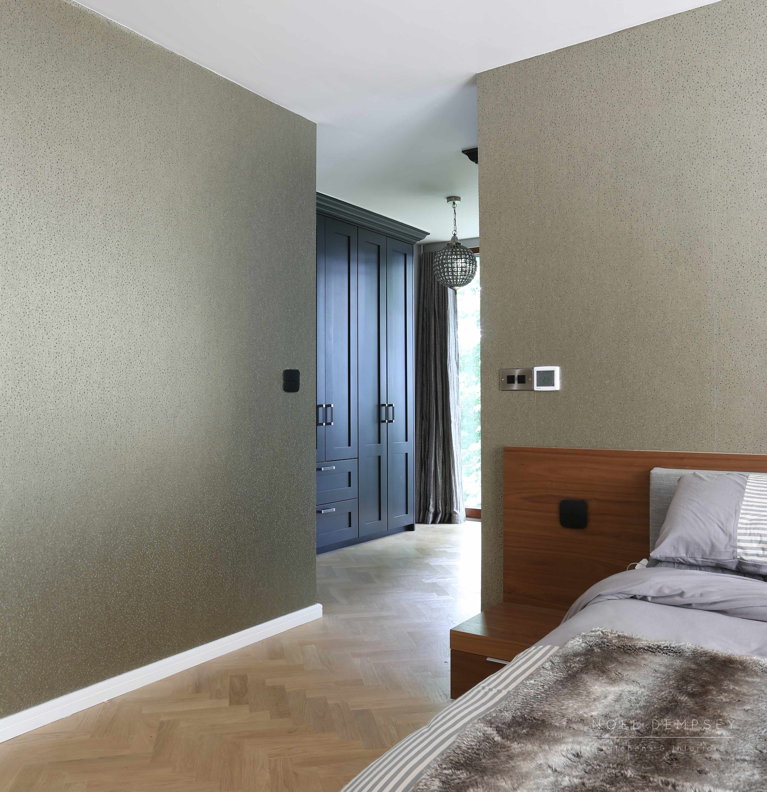 Bespoke bedroom by Noel Dempsey
