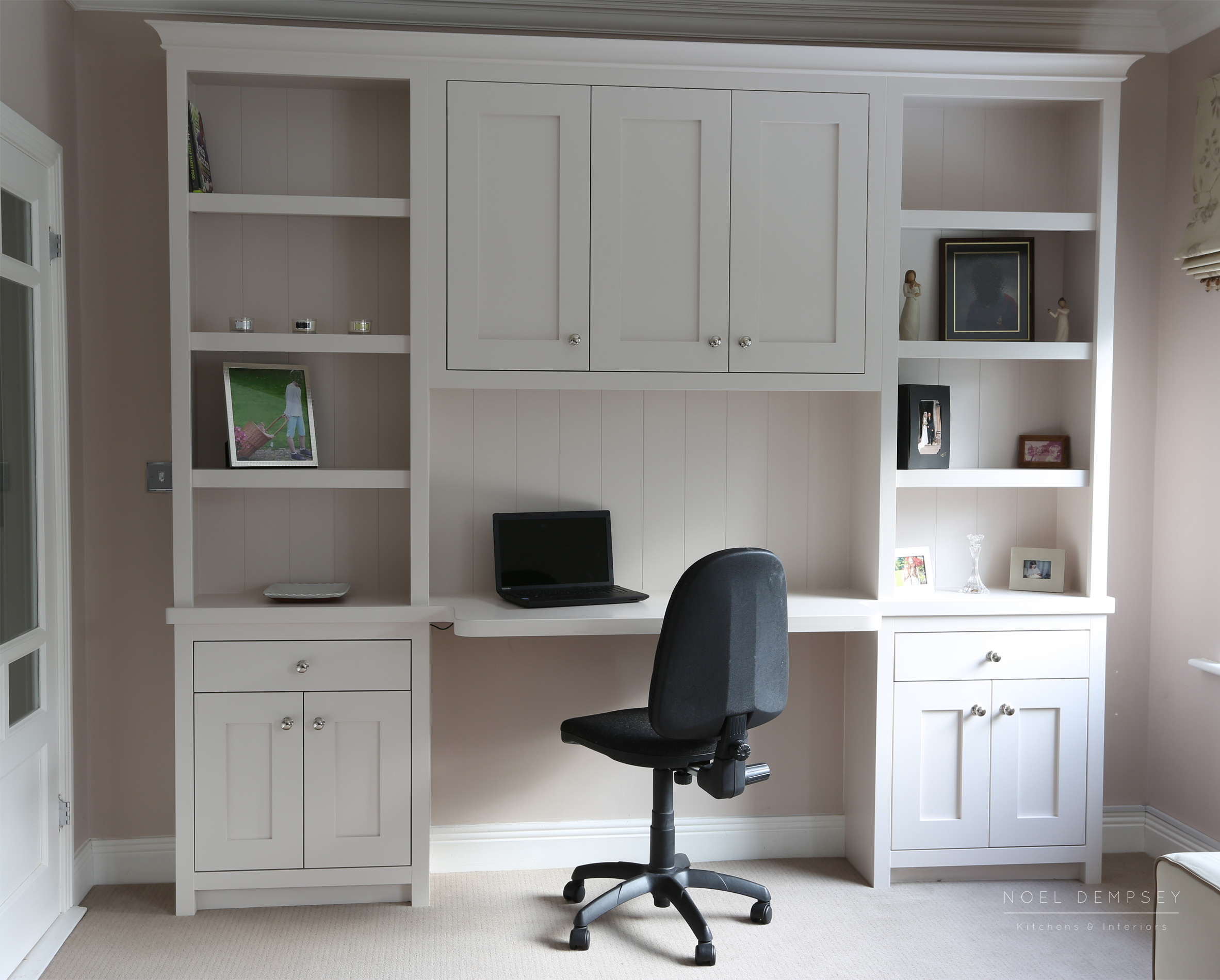 Bespoke home desk design