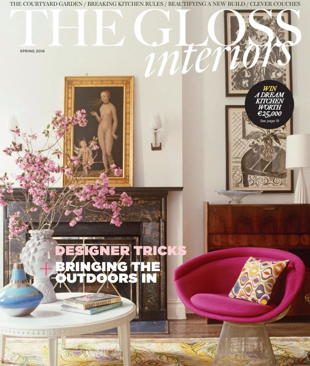 Noel Dempsey on The Gloss interiors