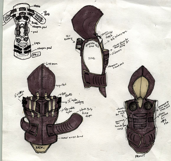 A look from design partner Corey Jackson
