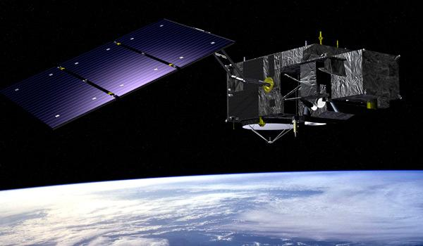 Artist impression of the Sentinel 3A satellite (credit: ESA)