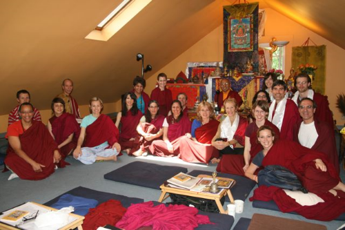 Sangha at the Center in New Haven