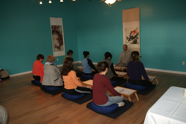Meditation at Windhorse International
