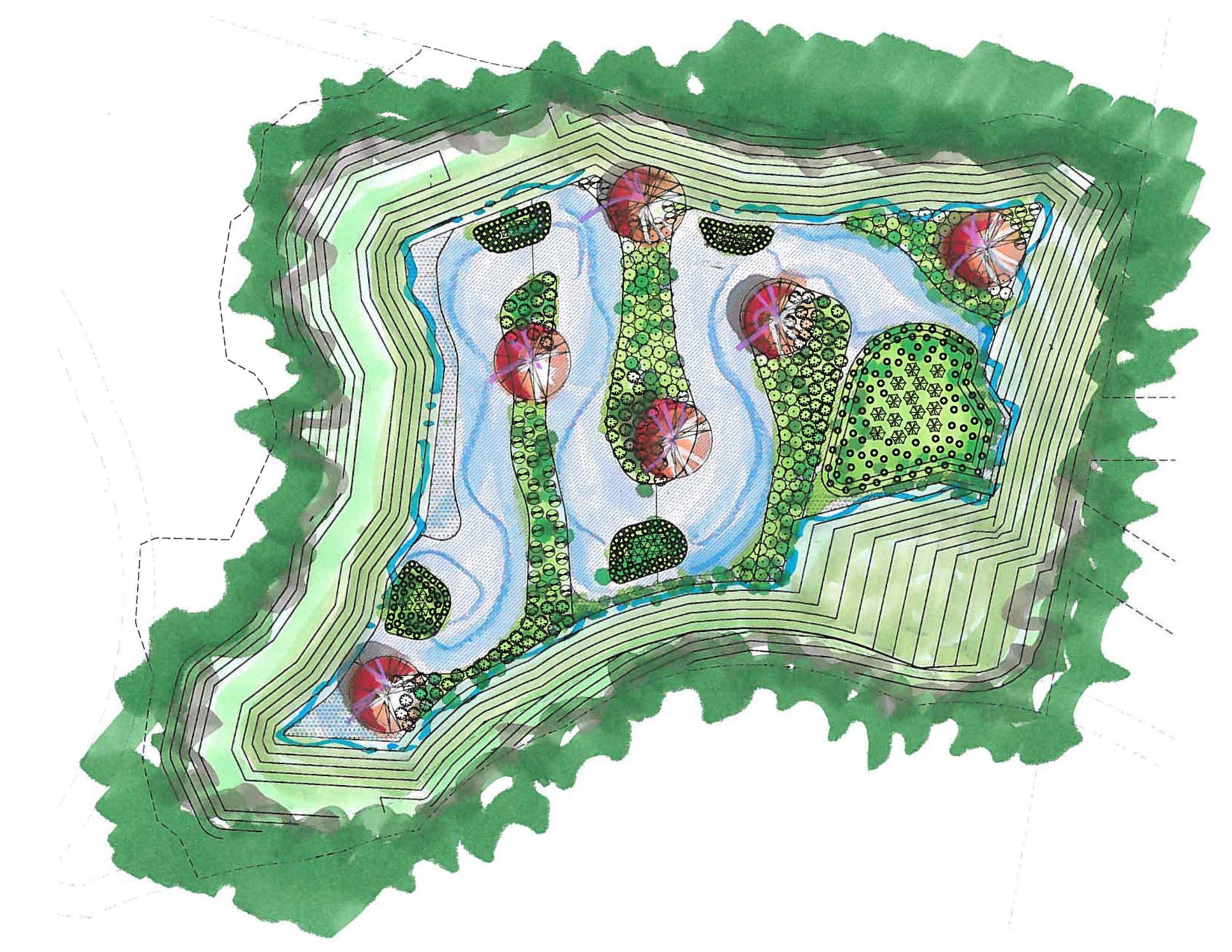 Herndon Trace - Landscape Architecture