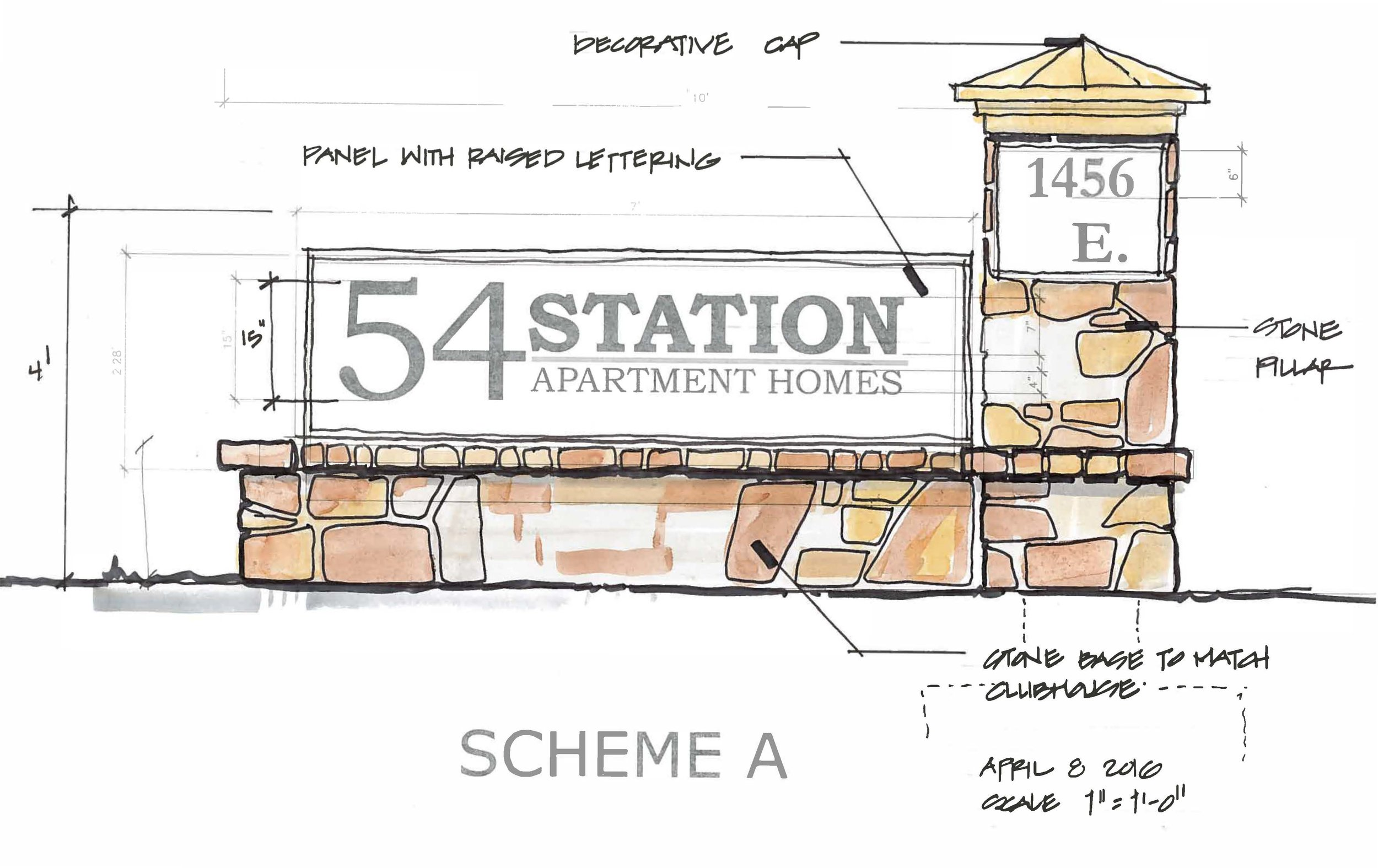 54 Station - Landscape Architecture
