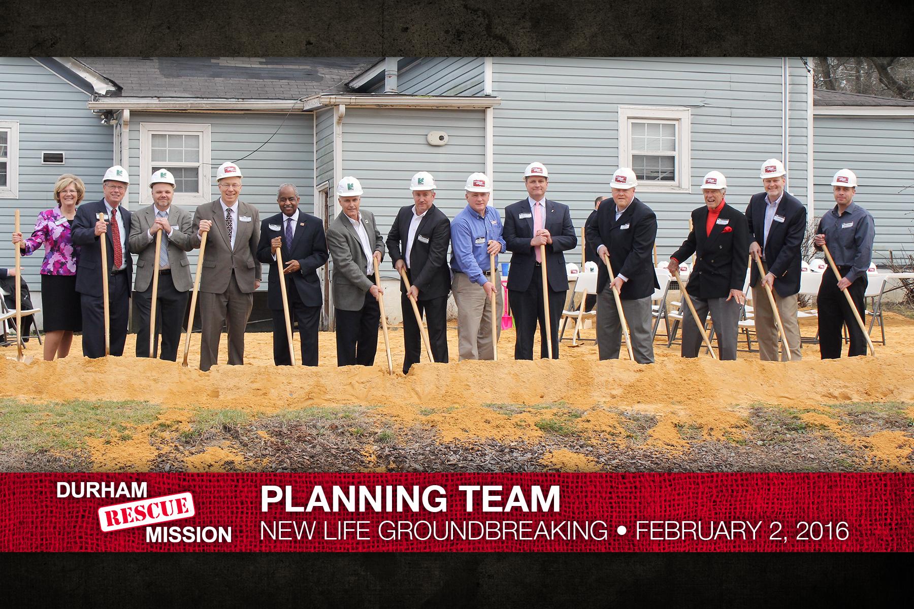 Durham Rescue Mission - Land Planning