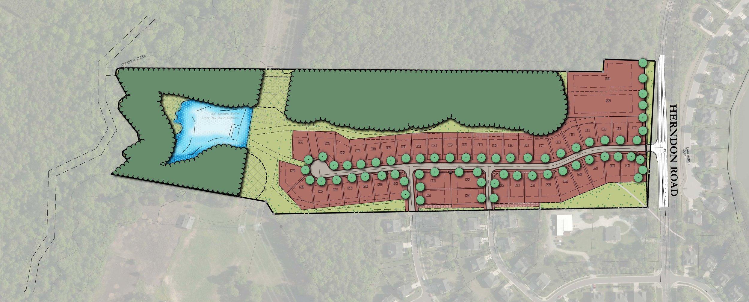Herndon Trace - Land Planning