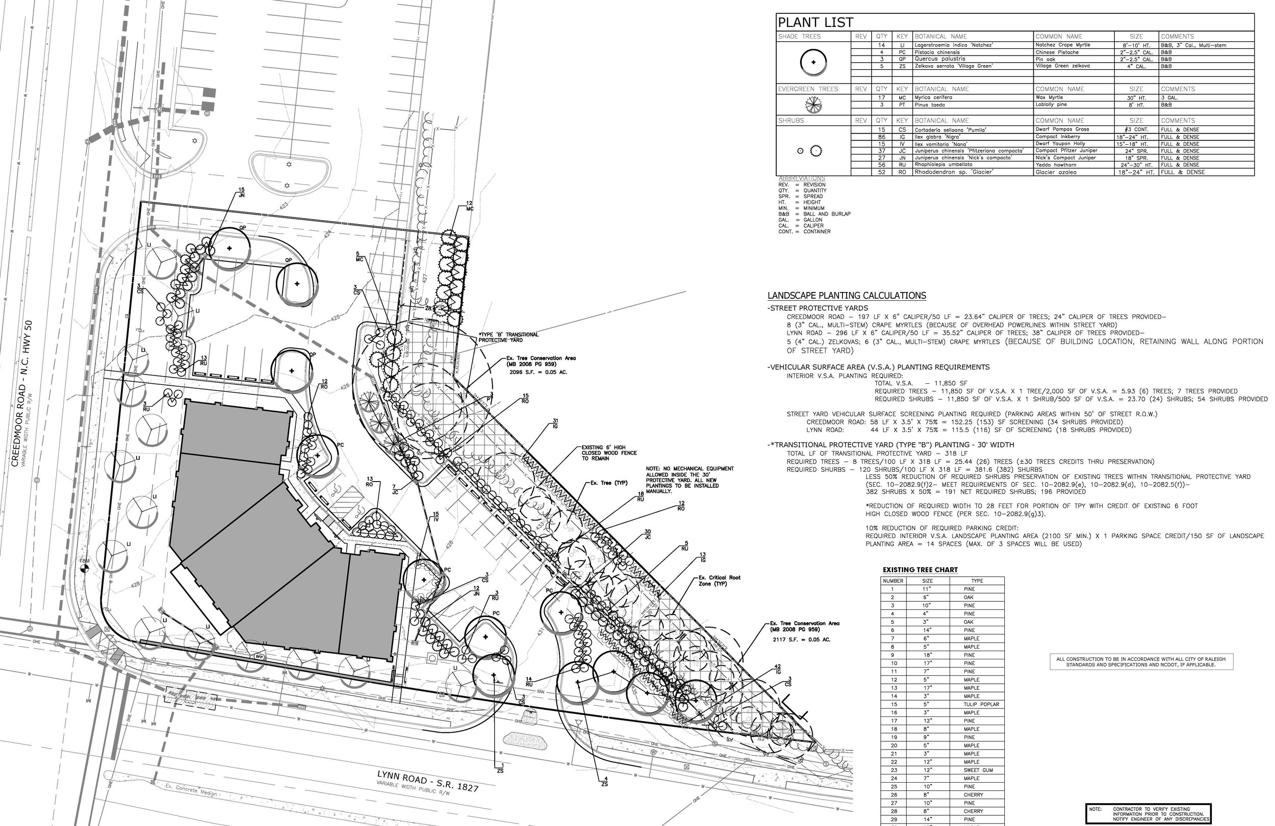 Lynn & Creedmoor - Landscape Architecture