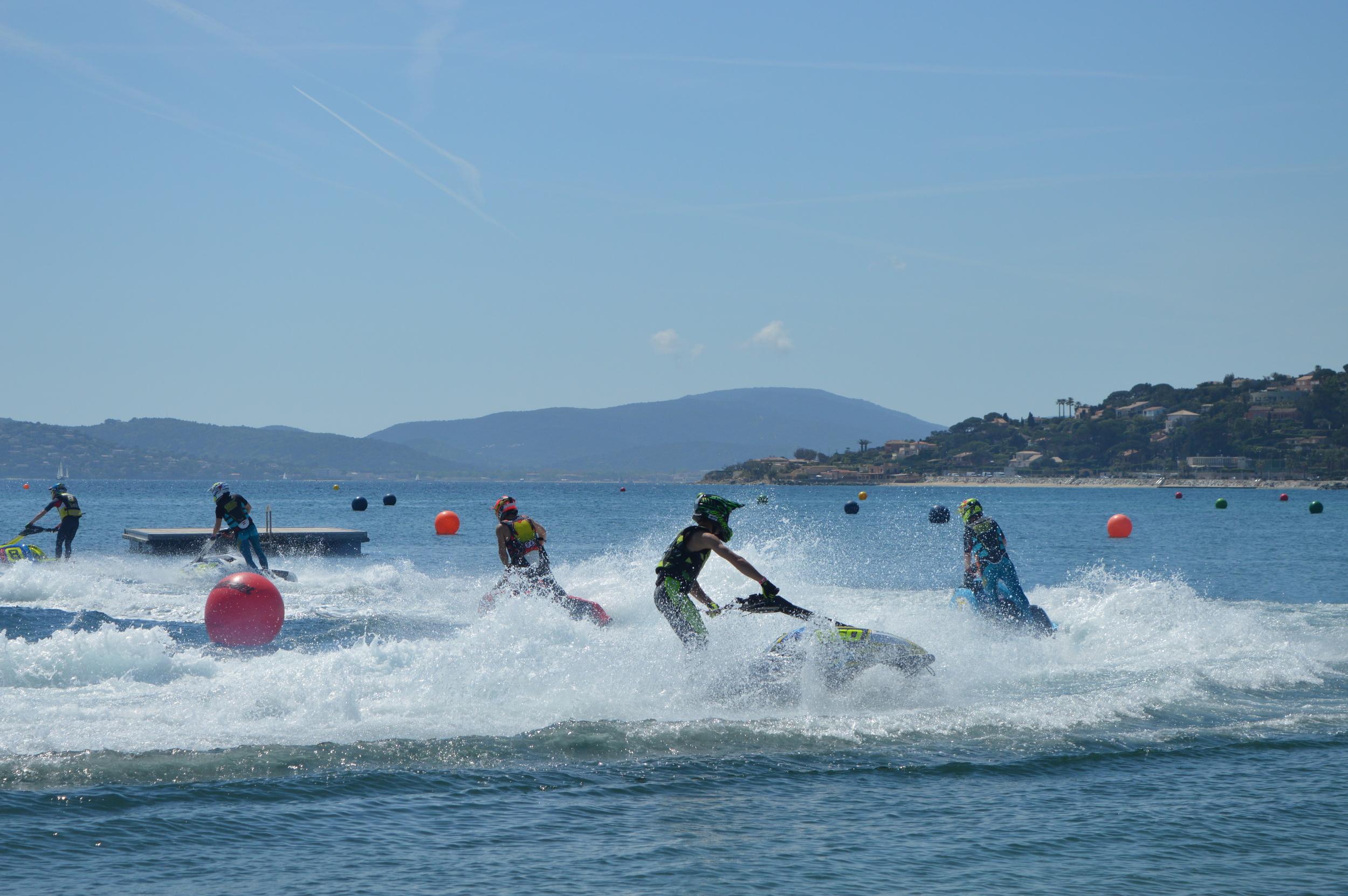 Ski's at Ste Maxime April 16