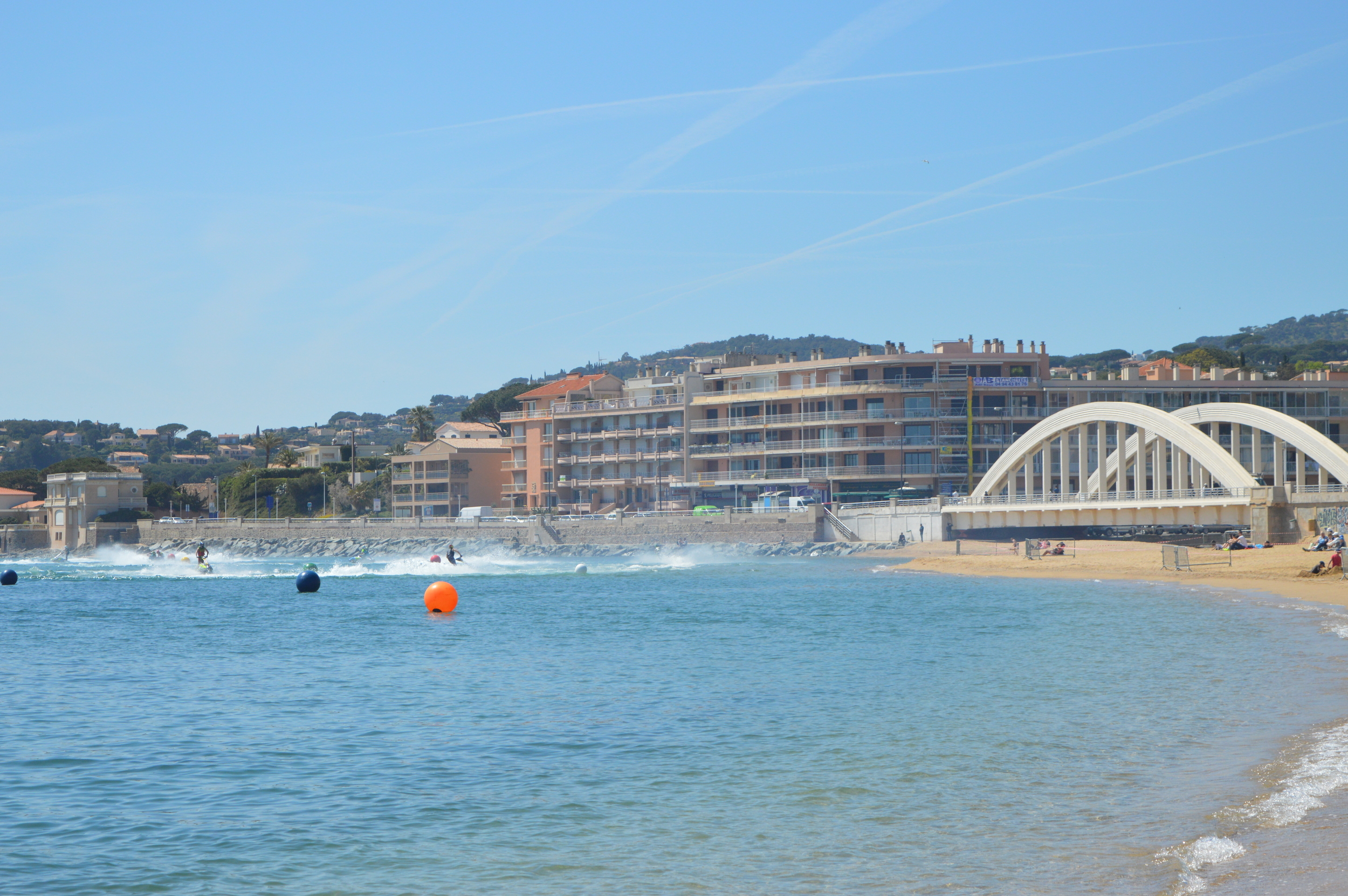 The Famous Bridge of Ste Maxime (More about it later)