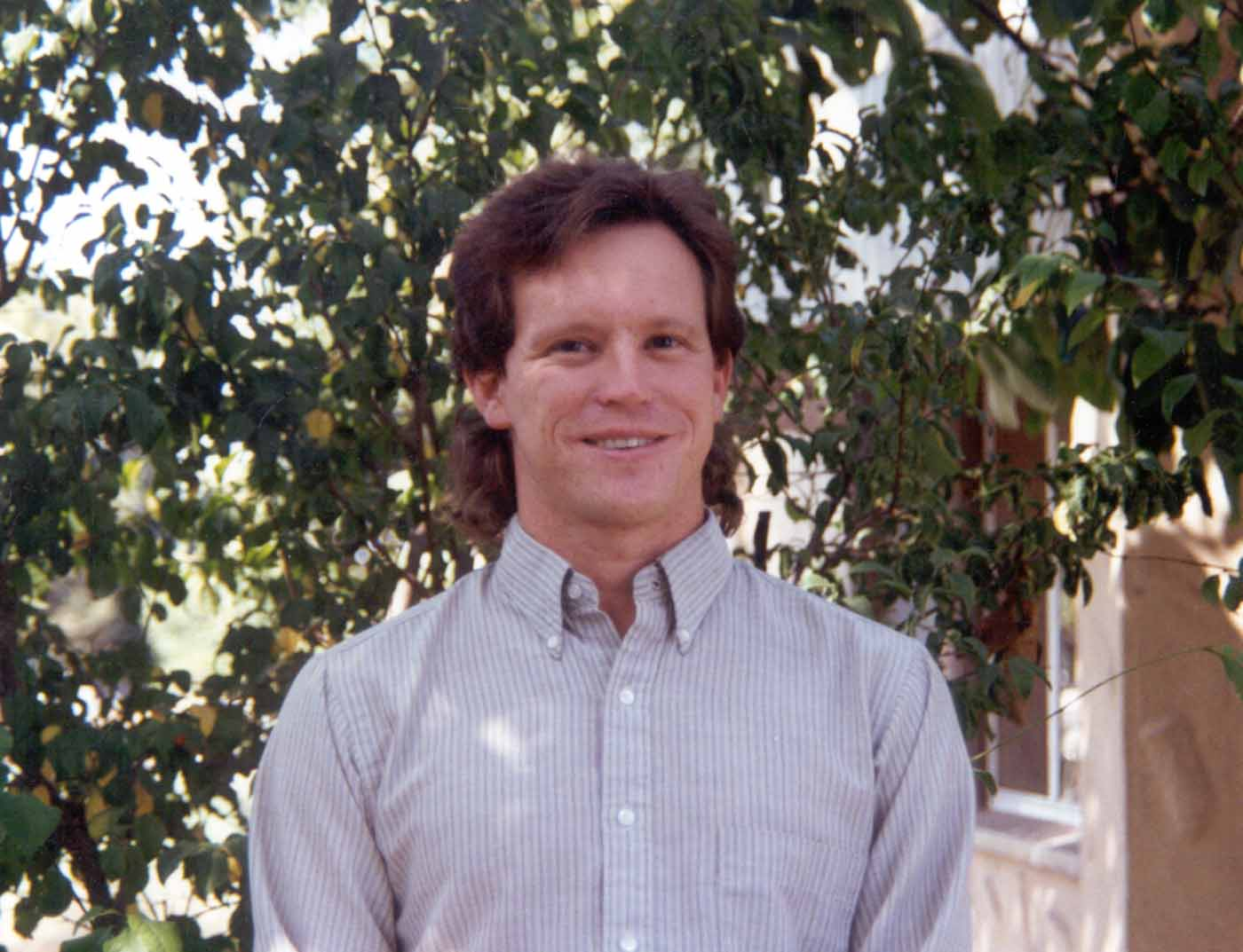 Throw back! - Here is a picture of Andrew taken in 1991.