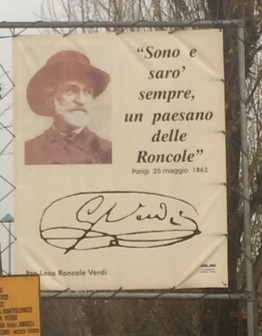 A quote by Verdi nearby