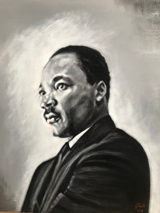My portrait of MLK