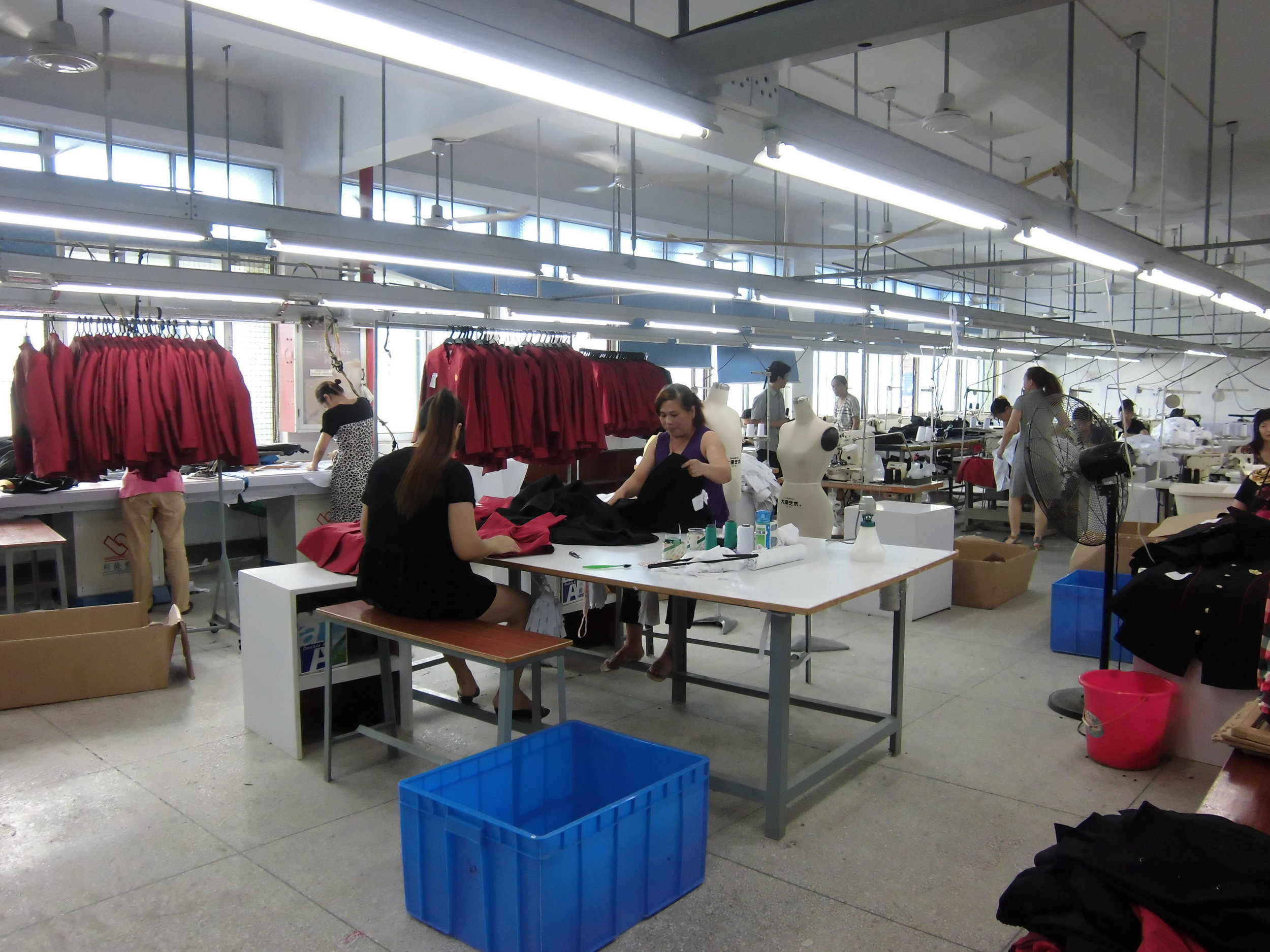 Sewing Department  - With an experienced sewing team and best in-class set-up, we can manufacture variety of high quality products efficiently, meeting your timelines to the day.