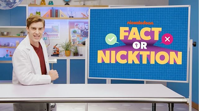 The first episode of Nickelodeon's Fact or Nicktion aired yesterday- set in a laboratory of our own design! The shelves and cabinets were custom made in our shop, along with the floor and galaxy ceiling, which we UV printed. Thanks to @viacom for bringing us in on this awesome project! Swipe to see whether Spongebob's ability to light a fire underwater is fact or Nicktion 🤔 #factornicktion #spongebob #nickelodeon #viacom #uvprinting #laboratory #scienceclass . . . . #setsandeffects #sets #setdesign #setdesigner #setconstruction #designandbuild #setlife #fabrication #setbuilding #artdepartment #artdirection #props #scenicdesign #cncrouter #lasercut #signage #eventdesign #experiential #behindthescenes #beyondthestreetsnyc #brooklyn