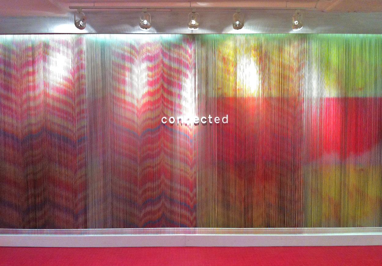 Mannington Commercial String Installation : Graphic Design