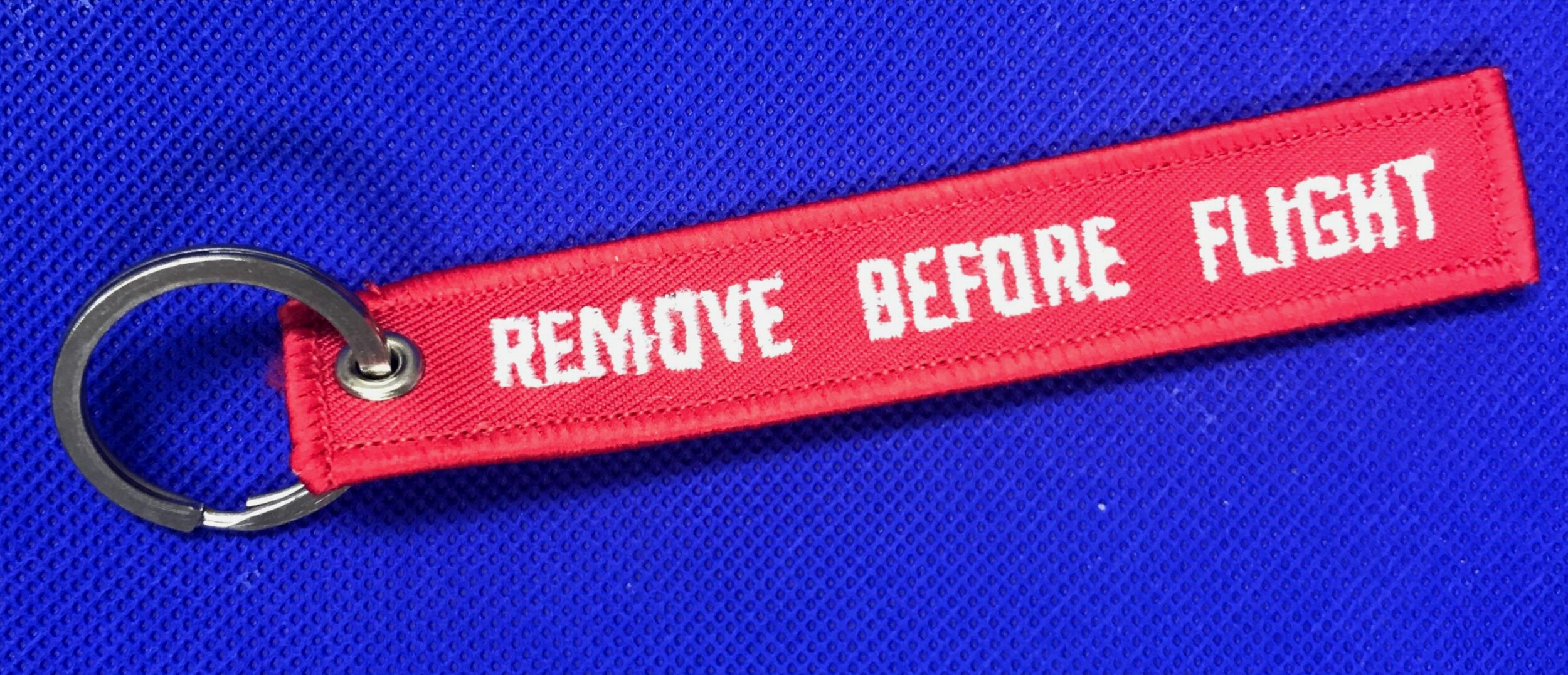 Remove Before Flight Keychain — Tillamook Air Museum
