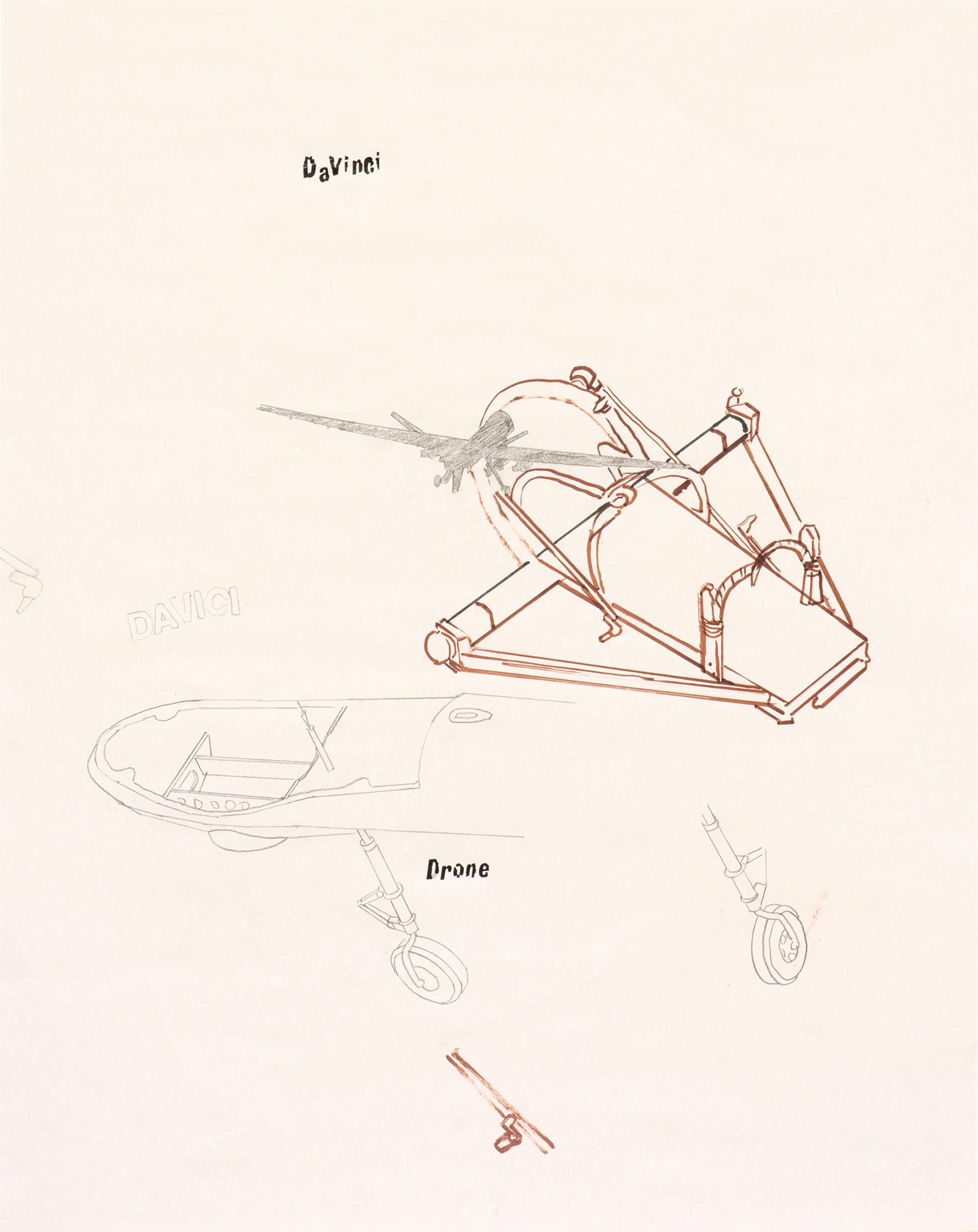 Da Vinci and the Drone