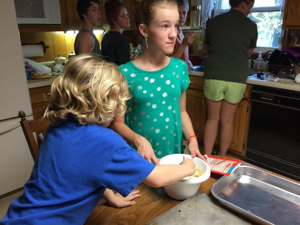Lanham - Hannah Making Cookies  for our Back to School Cookout .jpg