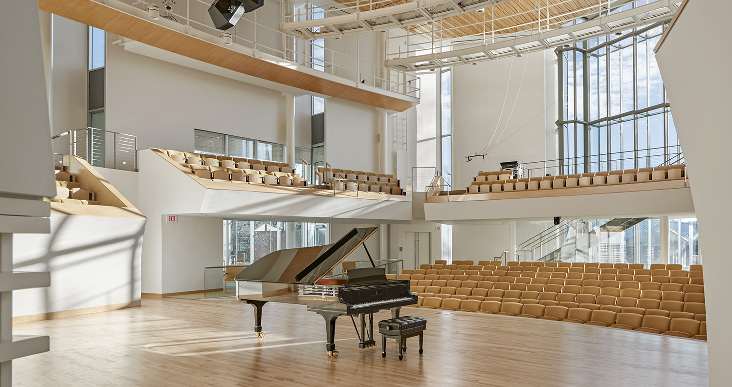 New Recital Hall, Pennsylvania State University