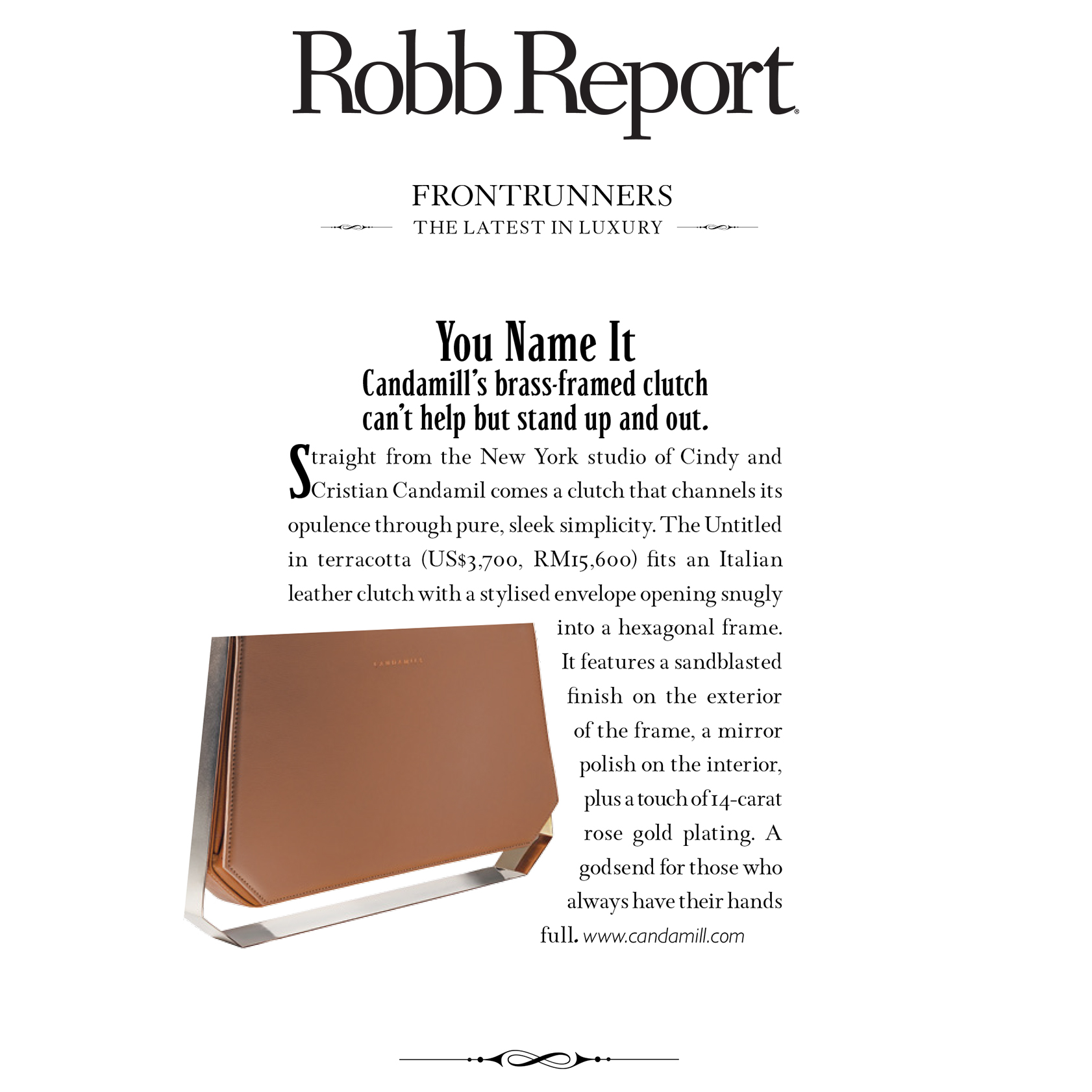 Via Robb Report Malaysia | April 2016 Issue