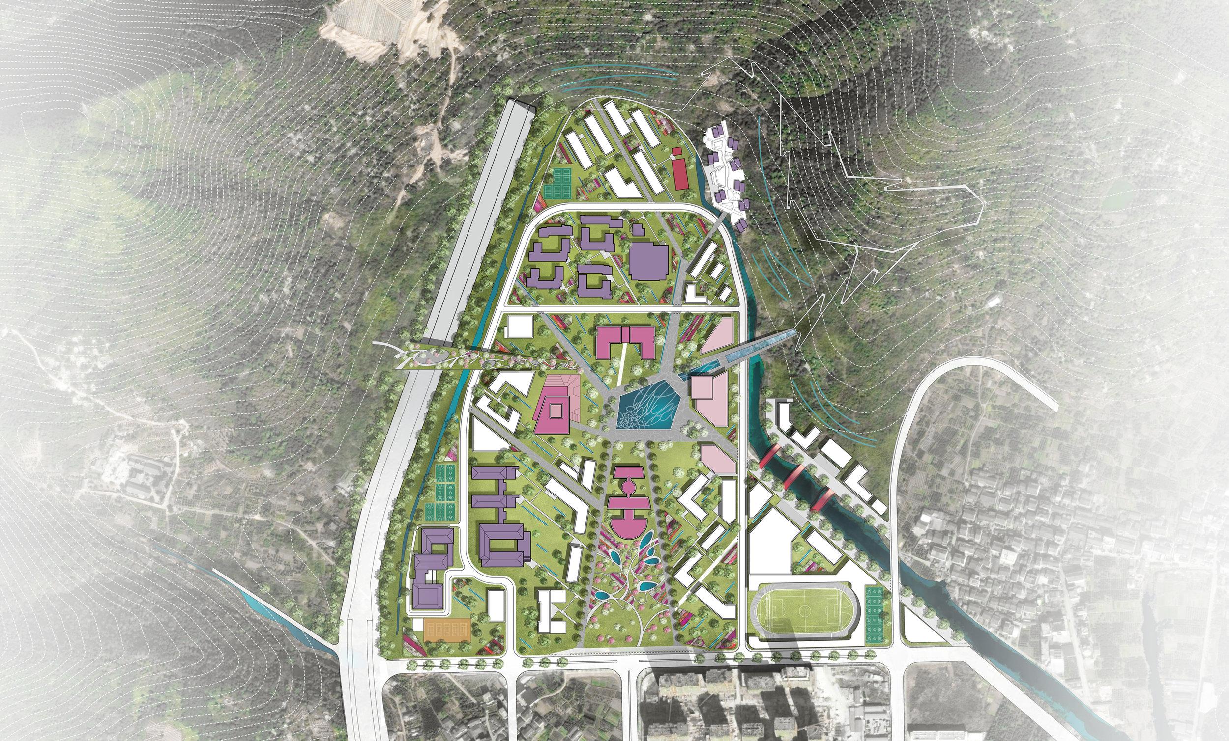 Overall campus masterplan