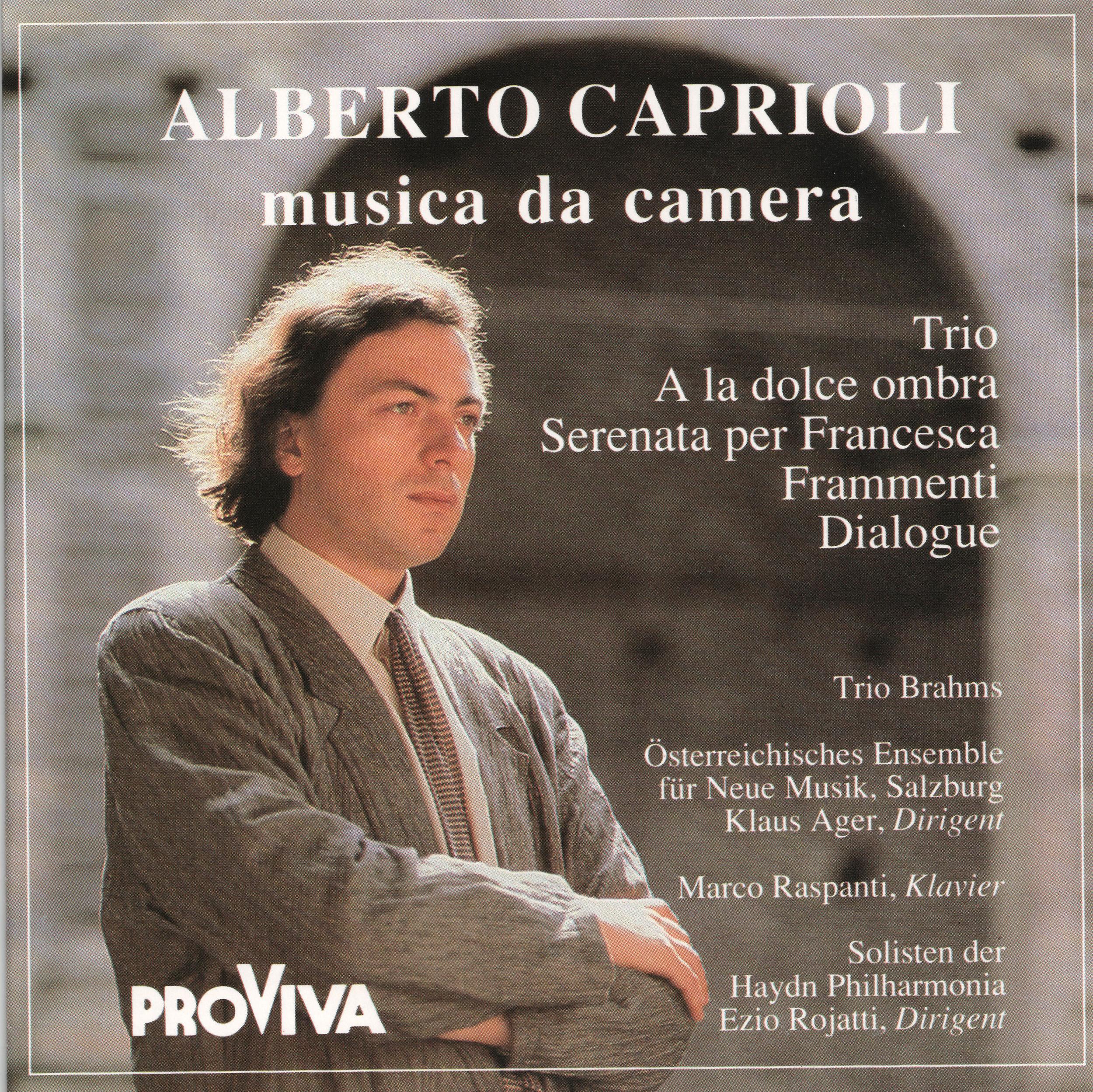 Alberto Caprioli musica da camera