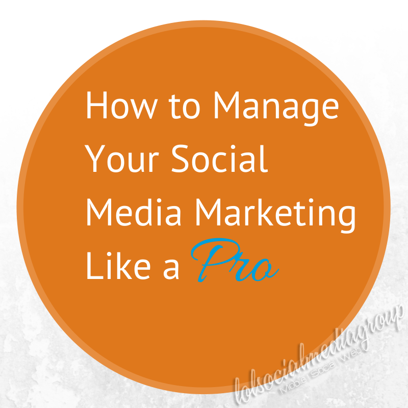 How to Manage Your Social Media Like a Pro