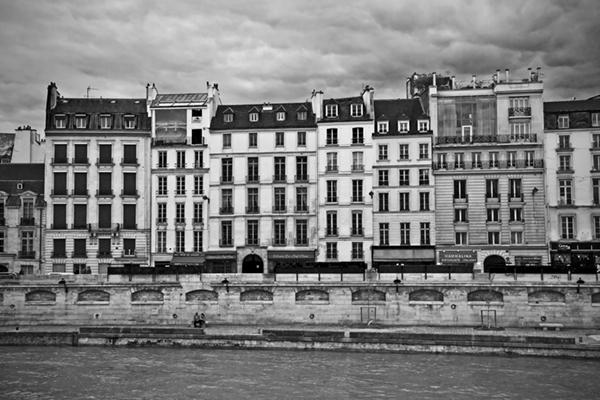 "Above La Seine - Paris   Photographic Print   16""x24""  Print $365  22""x30"" Framed $500"