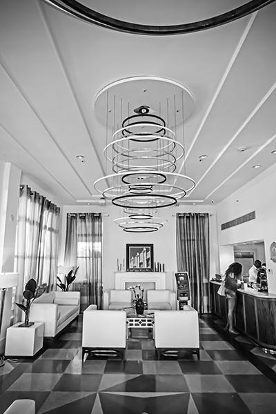 "Art Deco Interior - South Beach   Photographic Print   16""x24""  Print $365  22""x30"" Framed $500"