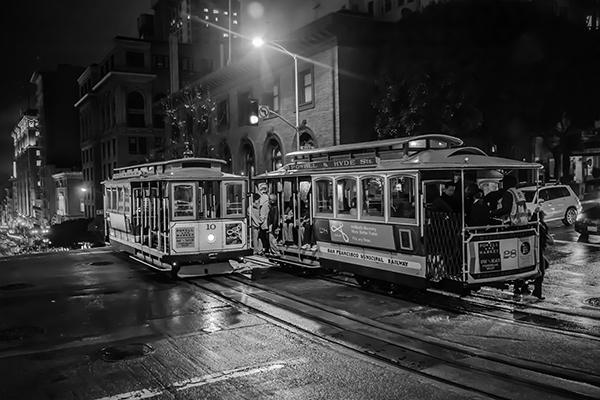 """Coming and Going -  San Francisco   Photographic Print   16""""x24""""  Print $365  22""""x30"""" Framed $500"""